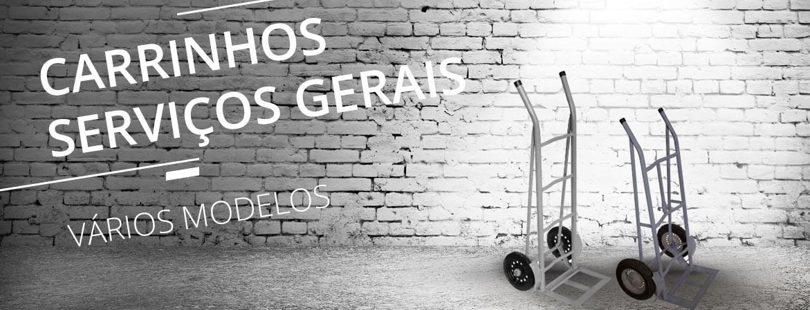 CARRINHOS DE SERVIÇOS GERAIS